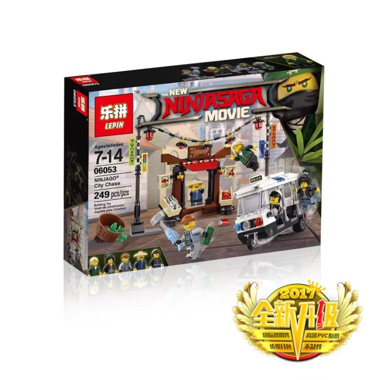Конструктор LEPIN NINJA MOVIE 06053 (32шт) 249дет, собр.кор