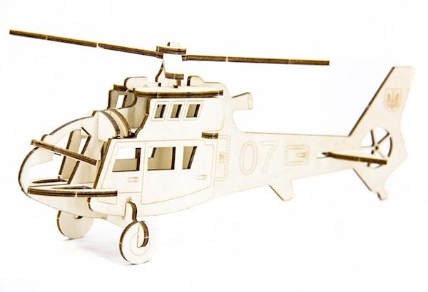 Фотография 1 товарной позиции интернет-магазина детских игрушек www.smarttoys.com.ua Конструктор Гелікоптер