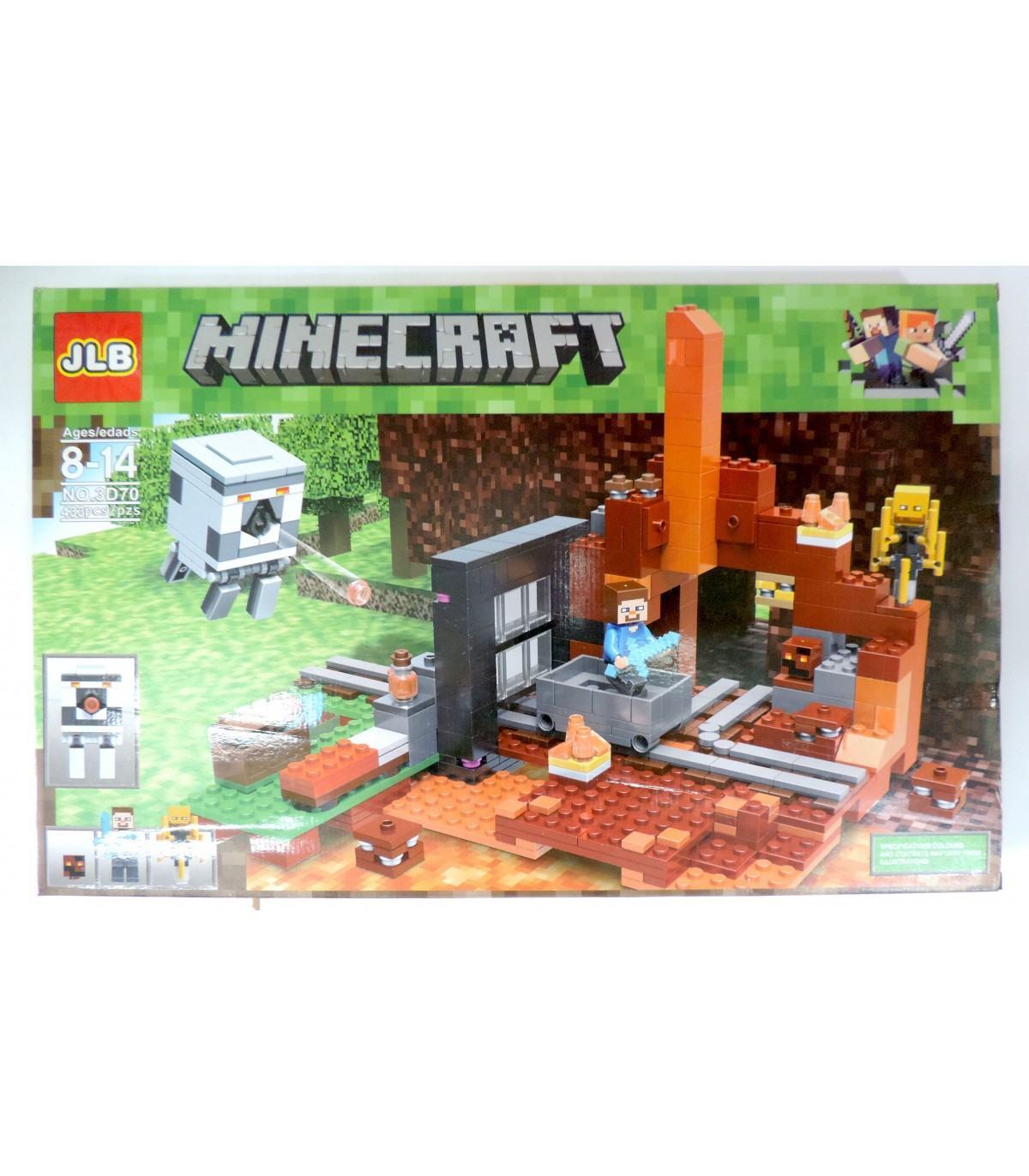 Фотография 1 товарной позиции интернет-магазина детских игрушек www.smarttoys.com.ua Великий конструктор Майнкрафт JLB Minecraft