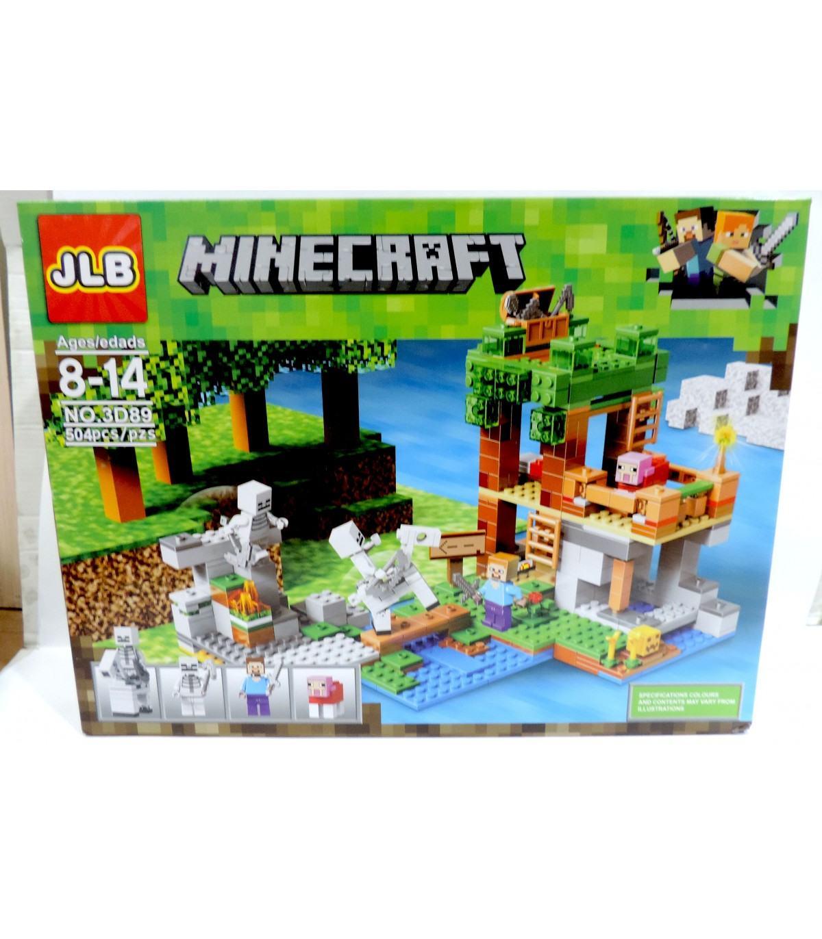 Фотография 1 товарной позиции интернет-магазина детских игрушек www.smarttoys.com.ua Конструктор Майнкрафт JLB Minecraft