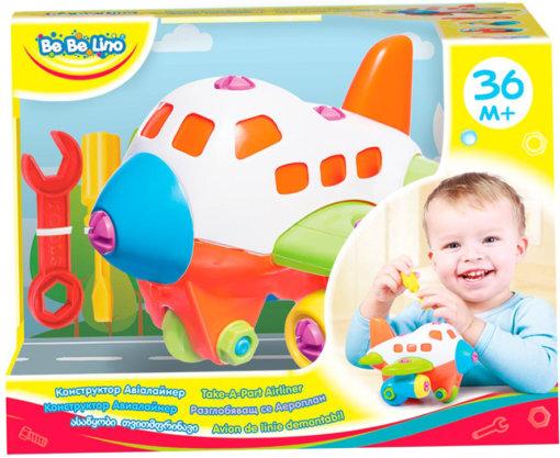 Фотография 1 товарной позиции интернет-магазина детских игрушек www.smarttoys.com.ua Конструктор Авіалайнер; 3+