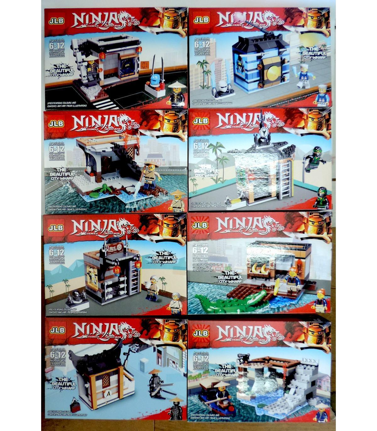 Фотография 1 товарной позиции интернет-магазина детских игрушек www.smarttoys.com.ua Конструктори JLB НинзяГо 8 Ninja 150+ GA7-9